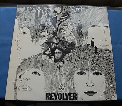 BEATLES REVOLVER XEX 606-1  MONO  UK LP 1st day Pressing August 1966 VG+/VG+