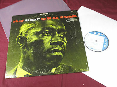 Art Blakey and the Jazz Messengers  MOANIN' - LP Blue Note BST 84003 sehr gut