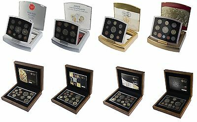 Royal Mint Executive Proof Sets 2000 To 2011