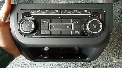 VW Tiguan 5N 2013 Digital AC climate control panel for heated seats inc surround