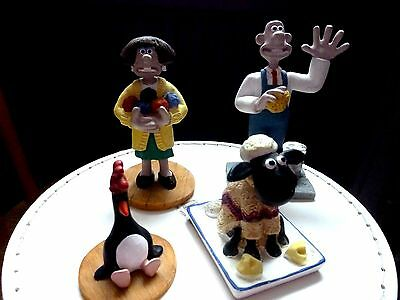 Wallace & Gromit - Collection Of 4Figures