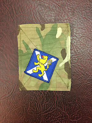 Genuine British Army Used Pcs Blanking Patch With Royal Regiment Of Scotland Trf
