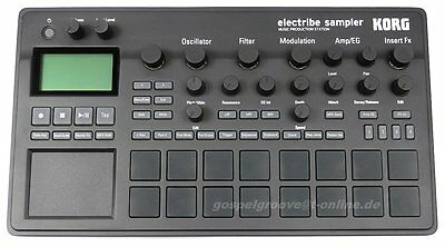 Korg Electribe 2 Music Production Station OVP & NEU + 2 J.GEWÄHR