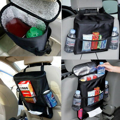 Universal Car Back Seat Tidy Hanging Multi Pocket Travel Kids Storage Organizemp