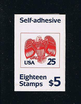 US 2431A (1989) - Eagle Self Adhesive Issue Booklet - Plate #A1111