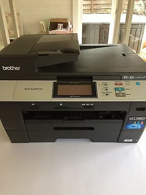 Brother DCP-6690CW Compact Colour Inkjet Multifunction Printer All-in-One...