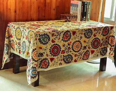 NEW Sunflower Wipe Clean Vinyl Tablecloth Dining Kitchen Table Cover Protector