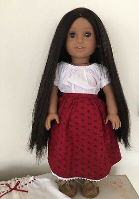 American Girl Josephina Montoya In Original Meet Outfit Plus Night Shift
