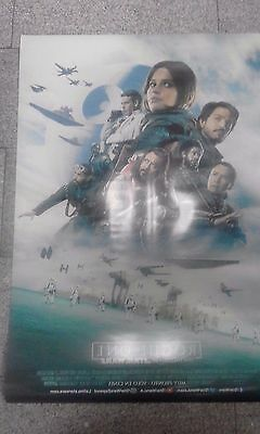 Rogue 1 Star Wars Original Movie Posters. New. Latin American Edition RARE.-