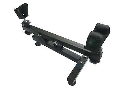 Rifle Gun Rest Shooting Bench Maintenance Sighting In Scope Zeroing Cleaning