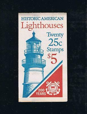 US BK171 (1990) - Lighthouses Booklet Issue - Plate #1