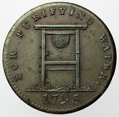 1795 Coventry Street Halfpenny ~ D&H292 Middlesex ~ Filtering Stone