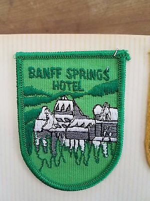 Patch / Badge - Banff Springs Hotel