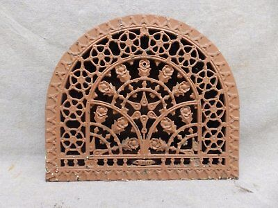 Antique Cast Iron Arch Top Dome Heat Grate Wall Register 11x13 182-17R