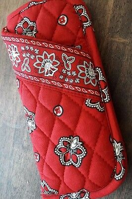 Vera Bradley Double Eyeglasses Case in Red Bandanna Shipping included