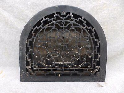 Antique Cast Iron Arch Top Dome Heat Grate Wall Register 11x13 183-17R