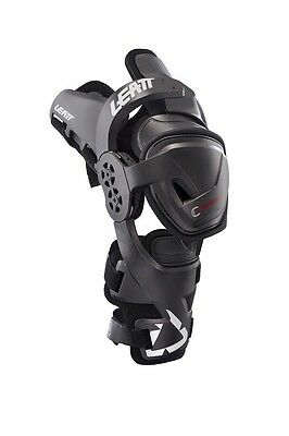 Leatt C Frame Pro Carbon Junior Knee Braces Youth Kids Pair One Size New Mx Bmx