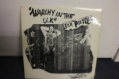 """12"""" Vinyl Sex Pistols """"anarchy In The Uk"""" French Glitterbest, I Wanna Be Me 1977"""