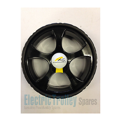 2  x New Style Powakaddy Black Sports Wheels