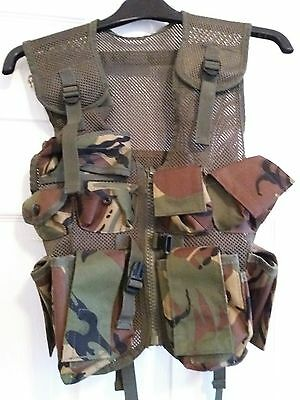 Small Boys Tactical Assault Vest with Adjustable Straps
