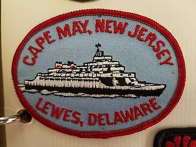 Patch / Badge - Cape May, New Jersey Lewes, Delaware