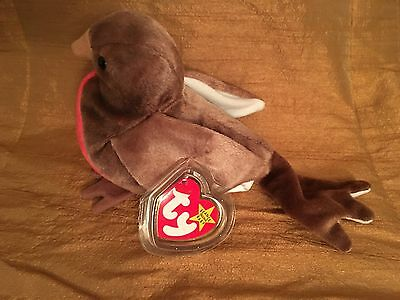 *RARE* Early Bird Ty Beanie Baby Retired with errors