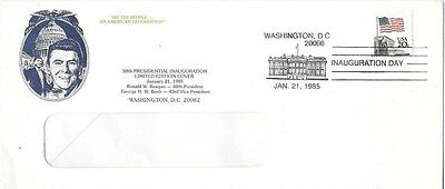 Reagan Presidential inauguration day cover 1985 limited edition