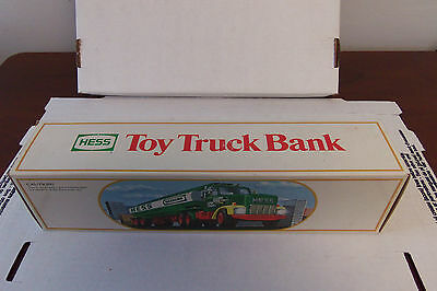 1984 Hess Tanker Truck Bank!! Collectible!!