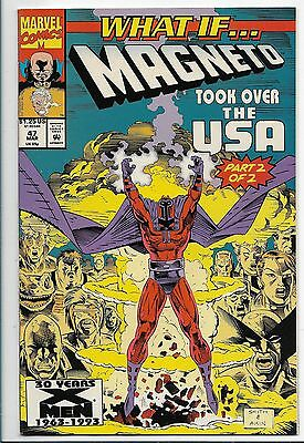 What If #47 Magneto Took Over the USA Part 2  Marvel Comics 1993 #cb8939