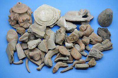 Group Of West Asian Terracotta Fragments