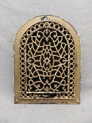 Antique Cast Iron Arch Top Dome Heat Grate Wall Register 9x12 187-17R