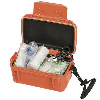 Waterproof Camping Hiking Hunting Outdoor Sports Emergency First Aid Kit w/ Box