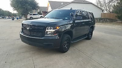 2015 Chevrolet Tahoe PPV 2015 Chevrolet Tahoe PPV Police Pursuit Vehicle Package