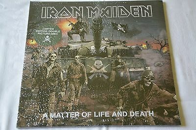 IRON MAIDEN A Matter of Life and Death sealed sigillato PDK 2lp 2006 first press