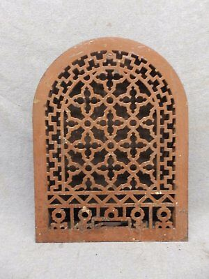 Antique Cast Iron Arch Top Dome Heat Grate Wall Register 11x14 188-17R