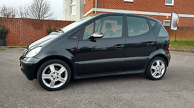 Mercedes A140 Piccadilly Black 2004 Low Mileage Very Good Condition