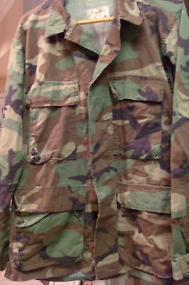 Woodland Camo Field Jacket From Cabela's  Light Weight