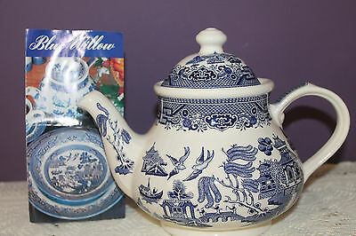 Churchill China Blue Willow Teapot