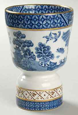 Booths REAL OLD WILLOW BLUE Double Egg Cup 38694