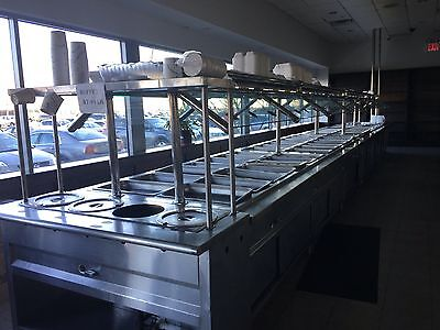"""delfield"" H.d. Commercial Refrigerated And/or Heated -(Hot/cold)- Buffet Table"