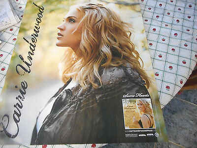 Carrie Underwood 2006 Some Hearts Promo Poster