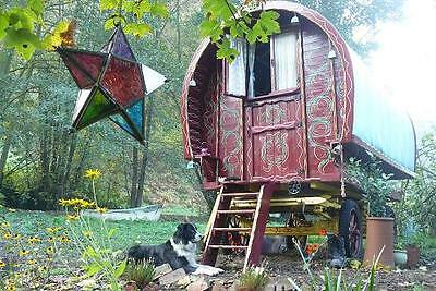 Any 3 nights April 2017 Gypsy Wagon Glamping Forest of Dean