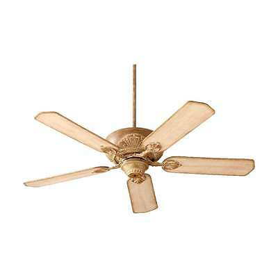 """Quorum 78525-94 Chateaux 52"""" Ceiling Fan In French Umber"""