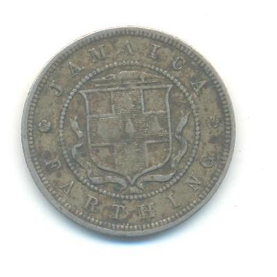 Very Rare.jamaica.farthing.1882.mint.h.. Very Collectable.a.152
