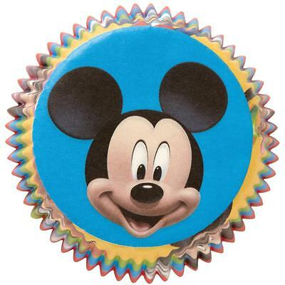 Wilton Disney MICKEY MOUSE Birthday Party Cupcake Baking Cups Pkg. 50 Liners