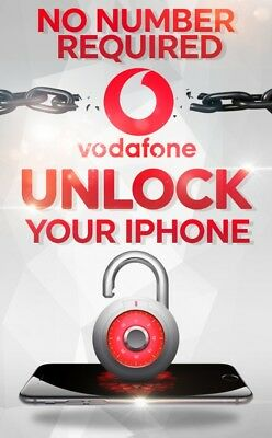 Vodafone Uk Unlocking Service Iphone 4 4S 5 5S 5C No Sim Required Stable Service