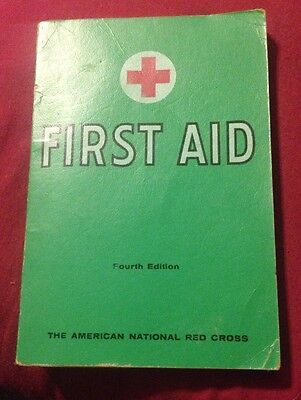 American Red Cross 1957 4th Edition First Aid Book