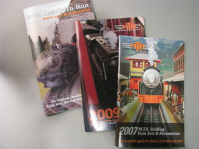 MTH RailKing 2007, 2009, 2011 Sets & Accessories Catalogs- 3 items