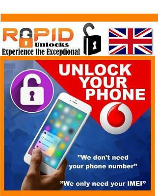 Uk Unlocking Service For Vodafone For Iphone 6S 6S Plus No Sim Required