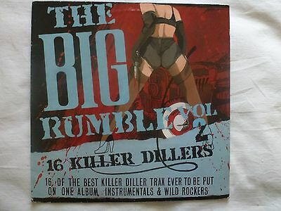 Lp Various 'the Big Rumble' Killer 1950S 1960S Usa Rockabilly And Instumentals